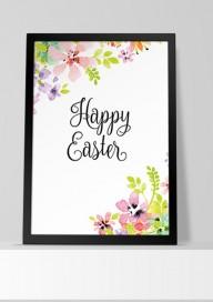Plakat (P022) Happy Easter
