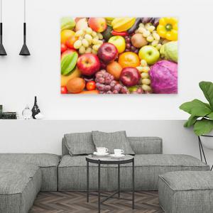 Obraz (O001) Świeże warzywa i owoce