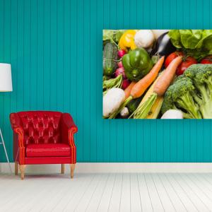 Obraz (O002) Świeże Warzywa