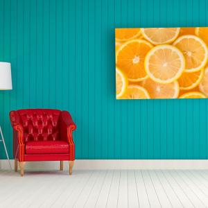 Obraz Słoneczne pomarańcze Kuchnia (O008)