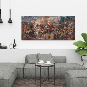 Obraz Bitwa pod Grunwaldem Jan Matejko Reprodukcja (R007)