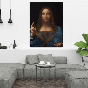 Obraz Zbawiciel Świata Leonardo da Vinci Reprodukcja (R011)