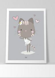 Plakat (P025) Kocia baletnica 3