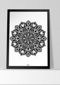 Plakat (P026) Mandala1
