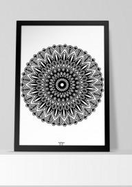 Plakat (P029) Mandala 3