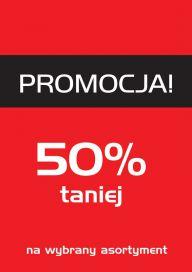Plakat (PG72) Promocja 50%