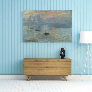 Obraz Impresja, wschód słońca Claude Monet Reprodukcja (R046)