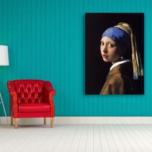 Obraz Dziewczyna z perłą Jan Vermeer Reprodukcja (R048)