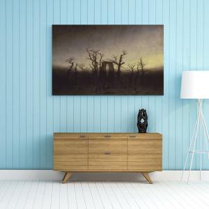 Obraz Opactwo w dębowym lesie Caspar David Friedrich Reprodukcja (R049)
