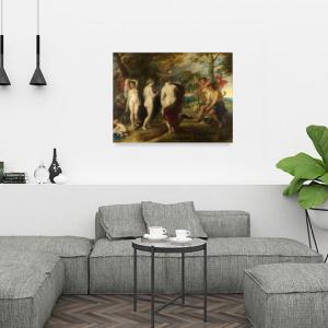 Obraz Sąd Parysa Peter Paul Rubens Reprodukcja (R050)