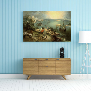 Obraz Pejzaż z upadkiem Ikara Pieter Bruegel Reprodukcja (R051)