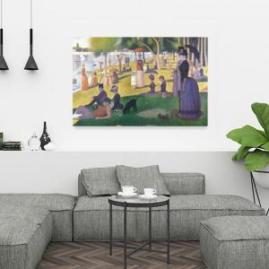 Obraz Niedzielne popołudnie na wyspie Grand Jatte Georges Seurat Reprodukcja (R055)