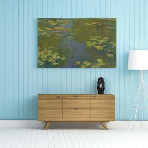 Obraz Le Bassin Aux Nymphéas (Lilie wodne) Claude Monet Reprodukcja (R059)