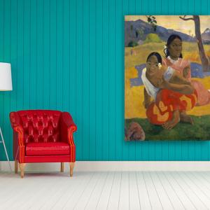 Obraz Kiedy mnie poślubisz Paul Gauguin Reprodukcja (R062)