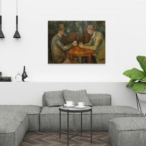 Obraz Grający w karty Paul Cézanne Reprodukcja (R063)