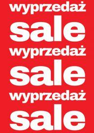 Plakat (PG80) SALE/WYPRZEDAŻ