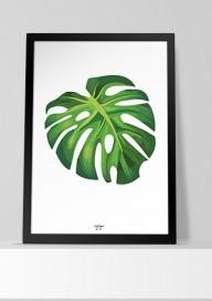 Plakat (P049) Liść