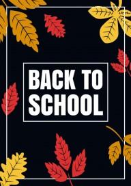 Plakat (PG387) Back to school