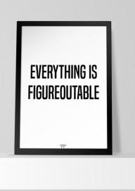 Plakat (P113) Everything...