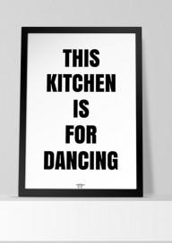 Plakat (P116) This kitchen