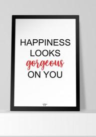 Plakat (P119) Happiness...