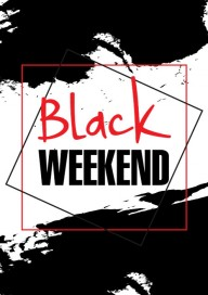 Plakat (PG409) Black weekend