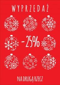 Plakat (PG418) -25% na drugą rzecz