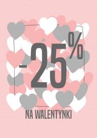 Plakat (PG432) -25% na walentynki