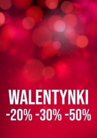 Plakat (PG433) Walentynki -20%-30%-50%