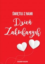 Plakat (PG439) Dzień Zakochanych
