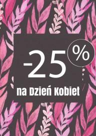 Plakat (PG443) -25% na Dzień Kobiet