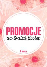 Plakat (PG446) Promocje na Dzień Kobiet