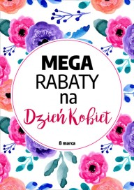 Plakat (PG452) Rabaty na Dzień Kobiet