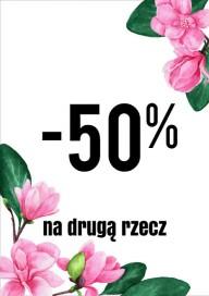 Plakat (PG459) -50% na drugą rzecz