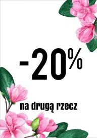 Plakat (PG460) -20% na drugą rzecz