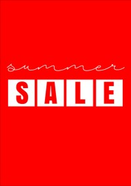 Plakat (PG468) Summer sale