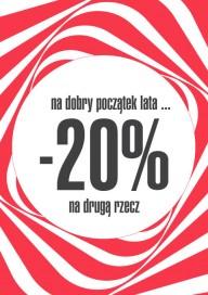 Plakat (PG483) -20% na drugą rzecz
