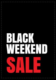 Plakat (PG525) Black weekend sale
