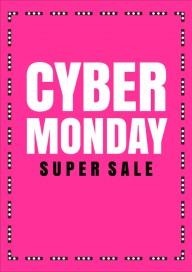 Plakat (PG529) Cyber monday