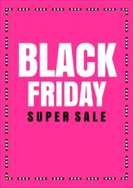 Plakat (PG530) Black friday