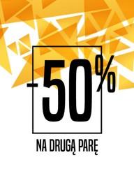 Plakat (PG533) -50% na drugą parę