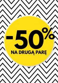 Plakat (PG534) -50% na drugą parę