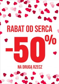 Plakat (PG536) Rabat od serca