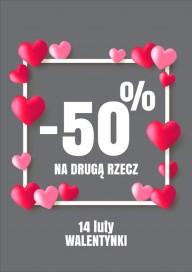Plakat (PG537) Walentynkowe promocje